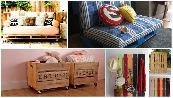 25 ideas de muebles con tarima de madera ideas perfectas for Ideas con tarimas de madera