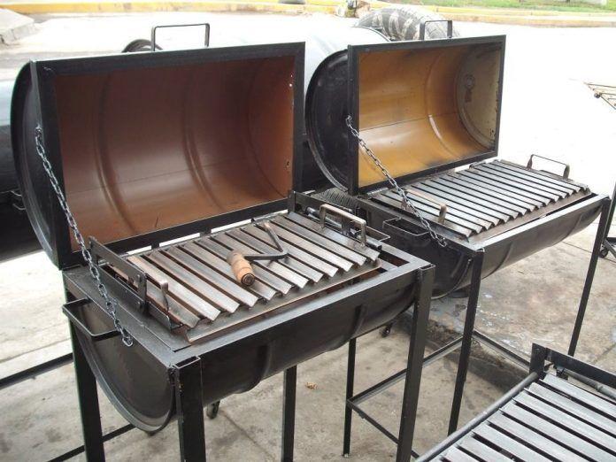 Gu a y recomendaciones para convertir un cilindro metal - Parrillas para asar carne ...